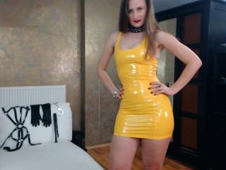 Photo de profil sexy du modèle AbyX, pour un live show webcam très hot !