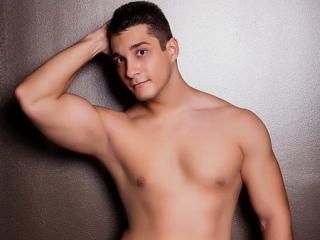 Picture of the sexy profile of AllanMendes, for a very hot webcam live show !
