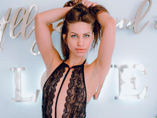 Photo de profil sexy du modèle AngellySky, pour un live show webcam très hot !