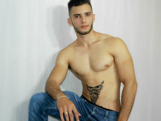 Picture of the sexy profile of AronKane, for a very hot webcam live show !