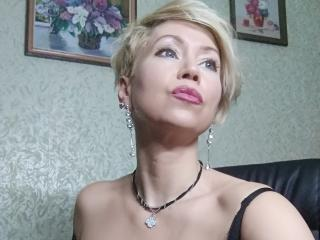 Picture of the sexy profile of Belka, for a very hot webcam live show !