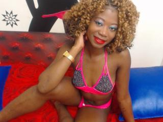 Picture of the sexy profile of blacksexyX, for a very hot webcam live show !