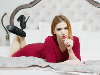 Picture of the sexy profile of CherryLissa, for a very hot webcam live show !