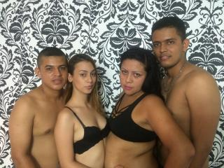 Picture of the sexy profile of GroupMagicSexFour, for a very hot webcam live show !