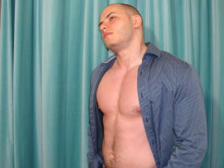 Picture of the sexy profile of jasonsteel, for a very hot webcam live show !