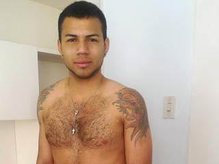 Picture of the sexy profile of JeanPaulX, for a very hot webcam live show !