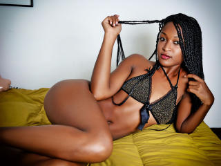 Photo de profil sexy du modèle KittyEbony, pour un live show webcam très hot !