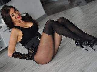 Picture of the sexy profile of LaraBelle, for a very hot webcam live show !