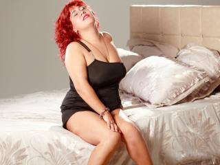 Picture of the sexy profile of MagnificentDame, for a very hot webcam live show !