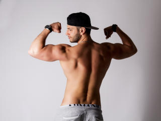 Picture of the sexy profile of MarisMuscle, for a very hot webcam live show !