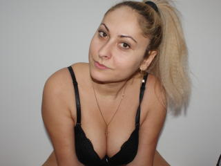Photo de profil sexy du modèle MissBlonndy, pour un live show webcam très hot !