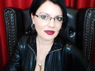 Picture of the sexy profile of MistressAnastasia, for a very hot webcam live show !