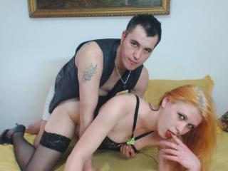 Picture of the sexy profile of PassionCoupleCum, for a very hot webcam live show !