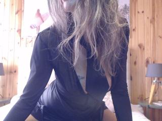 Photo de profil sexy du modèle Plume, pour un live show webcam très hot !