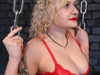 Photo de profil sexy du modèle QueenNicolee, pour un live show webcam très hot !