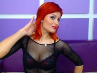 Picture of the sexy profile of RougeDesireX, for a very hot webcam live show !