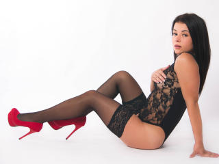 Picture of the sexy profile of SabineHot, for a very hot webcam live show !