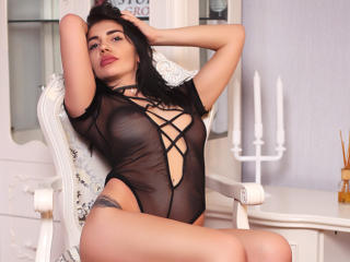 Photo de profil sexy du modèle SassyX, pour un live show webcam très hot !