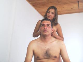 Picture of the sexy profile of SexHotCouple, for a very hot webcam live show !