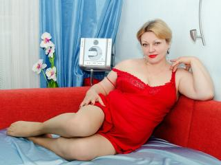Picture of the sexy profile of SweetMilfHot, for a very hot webcam live show !