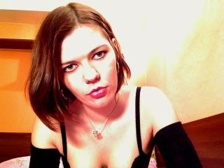 Picture of the sexy profile of UneFleur, for a very hot webcam live show !