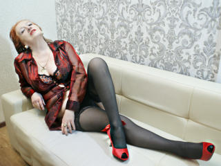 Picture of the sexy profile of VickedAngel, for a very hot webcam live show !