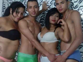 Picture of the sexy profile of WildSexFoursome, for a very hot webcam live show !