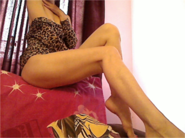 Picture of the sexy profile of Barbarita, for a very hot webcam live show !