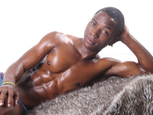 Picture of the sexy profile of BlackSexyBody, for a very hot webcam live show !