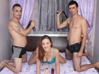 TrioLucky - Sexy live show with sex cam on XloveCam