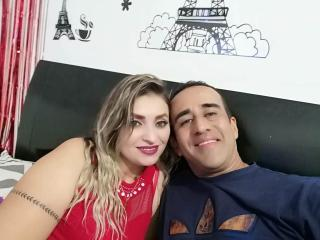 PreciosanDilan - Live chat sex with a shaved genital area Female and male couple